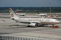 A6-EYK - A330 - Etihad Airways