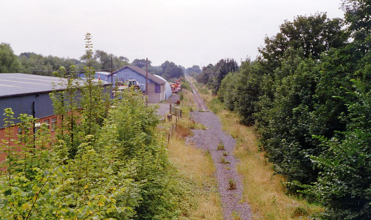 Etwall Railway Station Wikipedia
