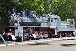 "Eu Class 0-10-0 'Эy-680-96' ""вперед к победе!"" – Victory Park, Moscow (38651391872).jpg"