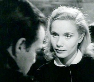 On the Waterfront - Marlon Brando as Terry Malloy and Eva Marie Saint as Edie Doyle in the film's trailer