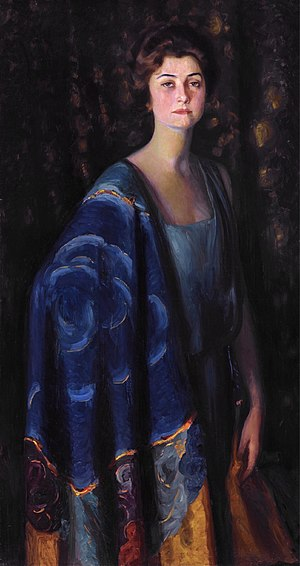 Robert Wood Johnson I - Evangeline Brewster Johnson (Prince Pierre Troubetzkoy, 1922)