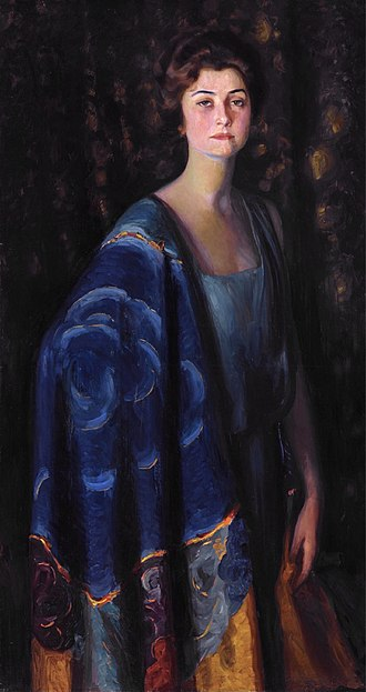 Robert Wood Johnson I - Evangeline Brewster Johnson (Prince Pierre Troubetzkoy, 1922)