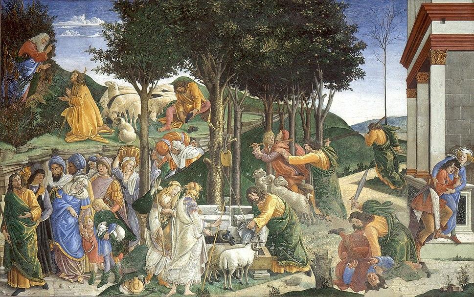 Eventos de la vida de Moisés (Sandro Botticelli)