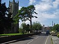 Evercreech Church and road - geograph.org.uk - 32820.jpg