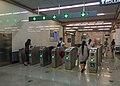 Exit faregates of L7 Daguanying Station (20170808155719).jpg