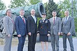 Expedition 56 prime and backup crew members in front of the Tsar Cannon at the Kremlin.jpg