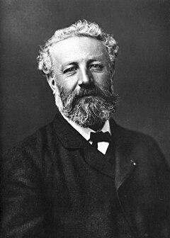 Jules Verne ca. 1878.   Foto af Félix Nadar.