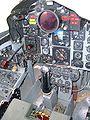 F-4N cockpit simulator PCAM pilot's instruments 1.JPG