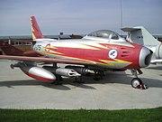 F-86F Sabre (Museo del Aire de Madrid) (4)