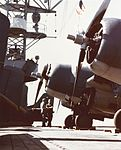 F4F-4 Wildcats on USS Santee (ACV-29) in late 1942.jpg