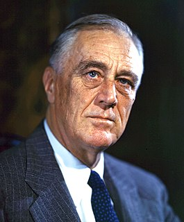 Presidency of Franklin D. Roosevelt, third and fourth terms U.S. presidential administration from 1941 to 1945