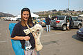 FEMA - 33264 - Displaced California resident at Qualcomm Stadium.jpg