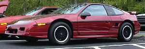 This is Tinton's 1988 Pontiac Fiero GT. He/she...