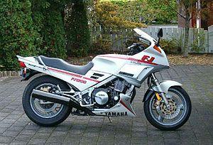 Yamaha FJ - 1990 FJ1200 Model 3CV with standard windscreen