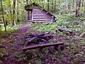 FLT M27 10.7 mi - Cold Spring Lean-to, 8.5' x 12' interior, fire ring, benches, ADA accessible outhouse, no water source nearby - panoramio.jpg