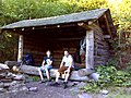 FLT M32 6.0 mi - Balsam Lake Mt. Lean-to, 8x12' interior, fire place, outhouse, piped spring nearby - panoramio.jpg