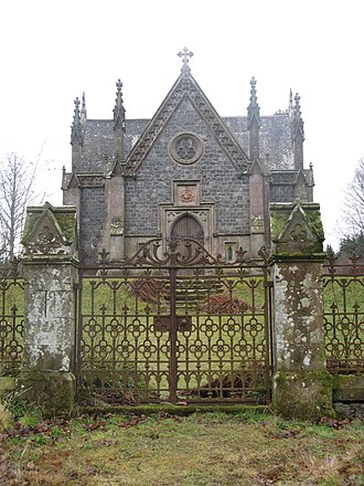 Forglen House - The Gothic-style Mausoleum
