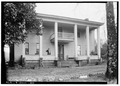 FRONT VIEW. (WEST) NORTH SIDE - Weaver House, 420 East Ladiga Street, Jacksonville, Calhoun County, AL HABS ALA,8-JACVI,7-1.tif