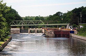 Clyde River (New York) - Image: FTC Canal Lock 27