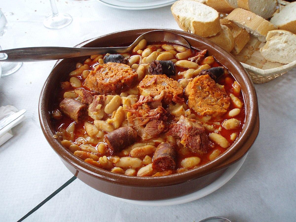 Fabada asturiana wikipedia for Cocina asturiana
