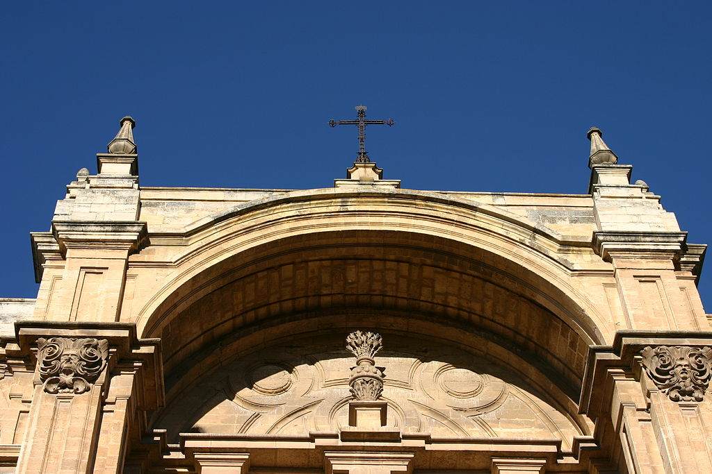 Facade of the Cathedral of Granada.JPG