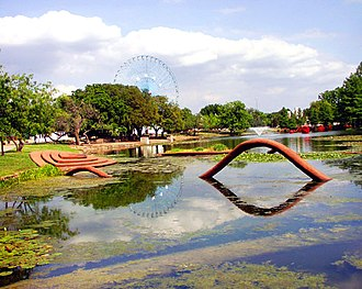 Fair Park - The Leonhardt Lagoon