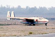 Fairchild C-82A CC-CAE Taxpa Los Cer 22.04.72 edited-2