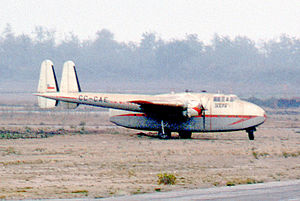 Fairchild C-82 Packet - Packet of Taxpa Airlines (Chile) in 1972