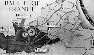 Kurt Meyer - A graphical presentation of the Falaise pocket