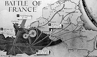 Kurt Meyer - A graphical presentation of the Falaise pocket