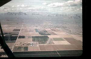 Falcon Field (Arizona) - Falcon Field in 1955.