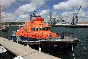 Falmouth Lifeboat Station - 17-29 Richard Cox Scott