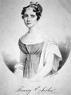 Fanny Eckerlin An Italian singer