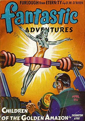 Malcolm Smith (artist) - Image: Fantastic adventures 194304