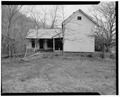 Farmhouse, south elevation - Trump-Lilly Farm, Hinton, Summers County, WV HABS WVA,45-HINT.V,1-2.tif