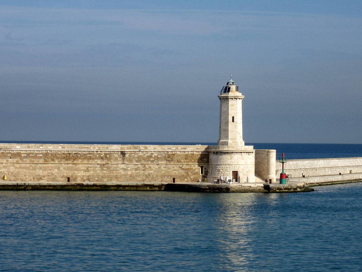 Faro dismesso della Diga Curvilinea - Wikipedia