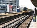 Fast train through New Malden - geograph.org.uk - 1820921.jpg