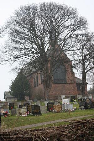 Fatfield - St George's church and churchyard in Harraton, Washington