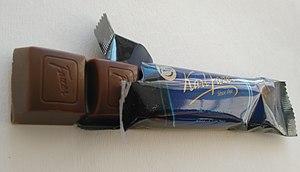 Fazer - Image: Fazer Blue chocolate bar