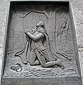 Federal Hall George Washington in Prayer.JPG