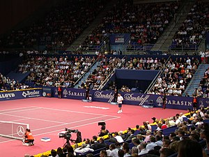 Swiss Indoors - Roger Federer at the 2006 Swiss Indoors