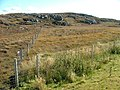 Fence and Moorland - geograph.org.uk - 573287.jpg