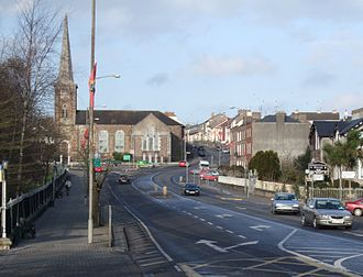 Fermoy - The R639 through Fermoy