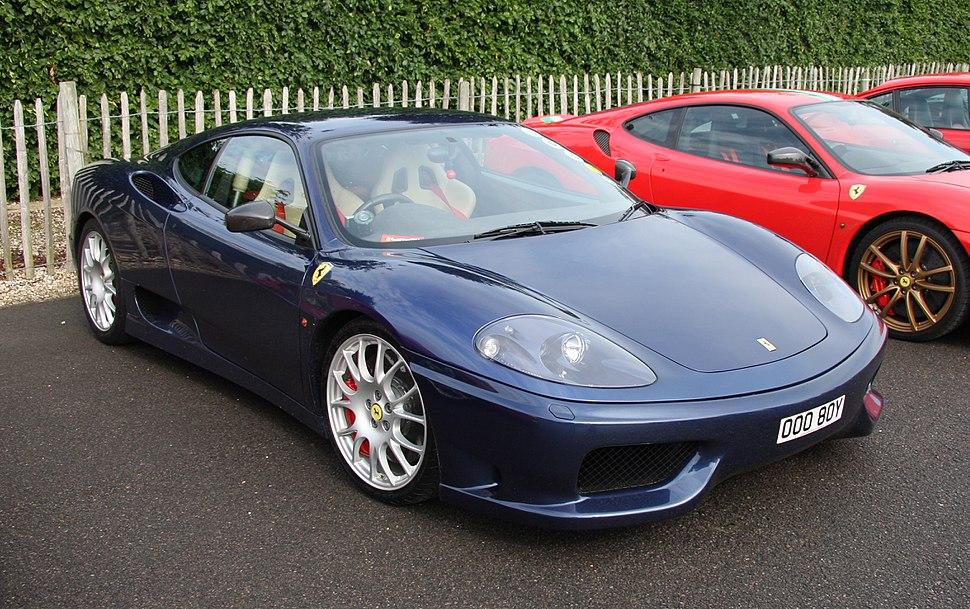 Ferrari 360 Modena blu