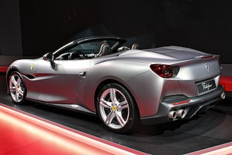 Ferrari Portofino - Rear view