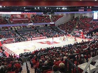 Houston Cougars - Image: Fertitta Center Interior December 2018
