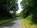 Ffordd gul ger Erwood - Narrow lane near Erwood - geograph.org.uk - 1448441.jpg