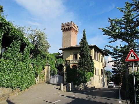 Fiesole villa la torrossa