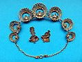 Filigree necklace and broches Portugal 1965 back.jpg