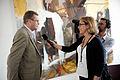 Finlands statsminister Matti Vanhanen intervjuas pa Nordiskt globaliseringsforum 2010.jpg